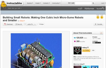 http://www.instructables.com/id/Building-Small-Robots-Making-One-Cubic-Inch-Micro/