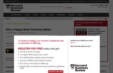 http://blogs.hbr.org/ideacast/2010/11/why-a-happy-brain-performs-bet.html
