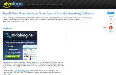 http://www.vivalogo.com/vl-resources/open-source-social-networking-software.htm