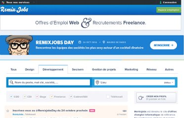 http://remixjobs.com/emploi/Developpement/Charge-de-conception-et-de-developpement-web/2518