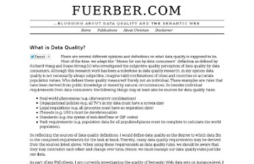 http://www.fuerber.com/2010/10/what-is-data-quality/