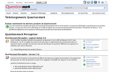 http://www.questionmark.com/fra/download/index.aspx