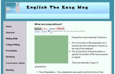 http://www.english-the-easy-way.com/Prepositions/What_Are_Prepositions.htm