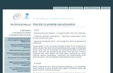 http://www.incluso.org/manual/online-flashmob-organisation