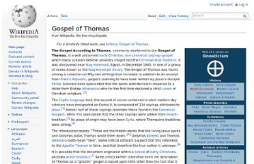 http://en.wikipedia.org/wiki/Gospel_of_Thomas