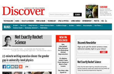 http://blogs.discovermagazine.com/notrocketscience/2010/11/25/15-minute-writing-exercise-closes-the-gender-gap-in-university-level-physics/