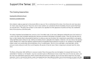 http://tarnac9.wordpress.com/texts/the-coming-insurrection/