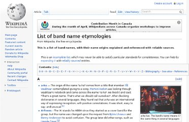 http://en.wikipedia.org/wiki/List_of_band_name_etymologies