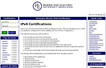 http://ipv6.he.net/certification/