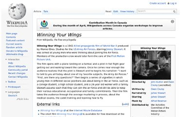 http://en.wikipedia.org/wiki/Winning_Your_Wings