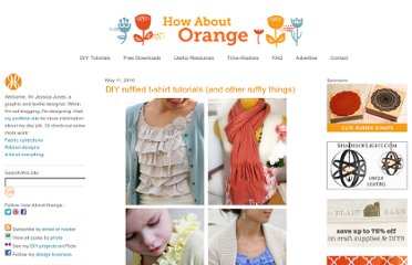 http://howaboutorange.blogspot.com/2010/05/diy-ruffled-t-shirt-tutorials-and-other.html