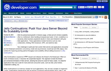 http://www.developer.com/java/web/article.php/3909666/Jetty-Continuations-Push-Your-Java-Server-Beyond-Its-Scalability-Limits.htm