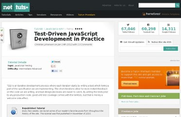 http://net.tutsplus.com/tutorials/javascript-ajax/test-driven-javascript-development-in-practice/