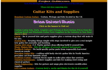 http://www.projectguitar.com/ref/supply.htm