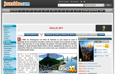 http://www.jeuxvideo.com/articles/0001/00013609-cities-xl-2011-test.htm