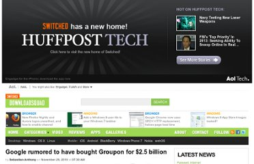 http://downloadsquad.switched.com/2010/11/29/google-rumored-to-have-bought-groupon-for-2-5-billion/