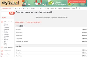 http://www.ilemaths.net/maths.php