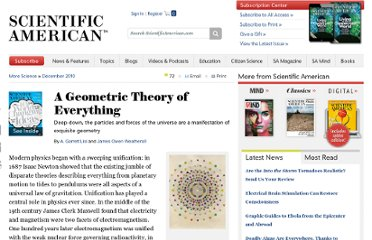http://www.scientificamerican.com/article.cfm?id=a-geometric-theory-of-everything