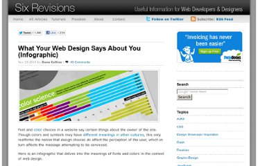 http://sixrevisions.com/infographics/what-your-web-design-says-about-you-infographic/