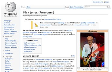 http://en.wikipedia.org/wiki/Mick_Jones_(Foreigner)