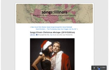 http://www.songsillinois.net/2010/11/songsillinois-christmas-mixtape-2010-edition/