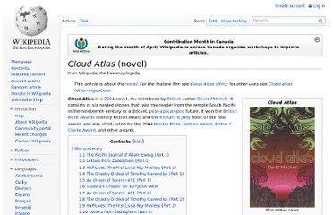 http://en.wikipedia.org/wiki/Cloud_Atlas_(novel)