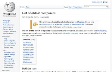 http://en.wikipedia.org/wiki/List_of_oldest_companies