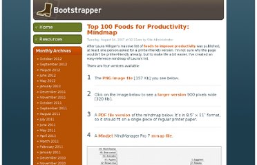 http://www.businesscreditcards.com/bootstrapper/top-100-foods-for-productivity-mindmap/