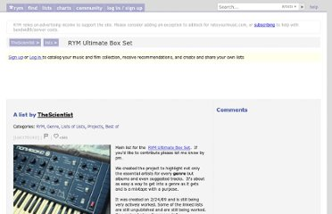 http://rateyourmusic.com/list/TheScientist/rym_ultimate_box_set