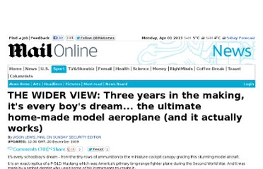 http://www.dailymail.co.uk/news/article-1237180/THE-WIDER-VIEW-Three-years-making-boys-dream--ultimate-home-model-aeroplane.html