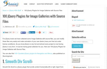http://www.stunningmesh.com/2010/11/100-jquery-plugins-for-image-galleries-with-source-files/