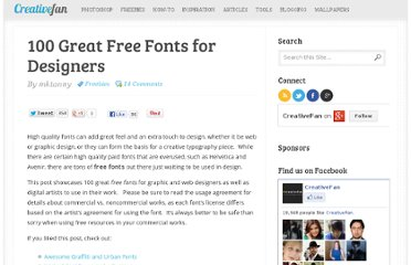 http://creativefan.com/100-great-free-fonts-for-designers/