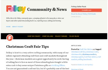 http://blog.folksy.com/2010/10/25/christmas-craft-fair-tips