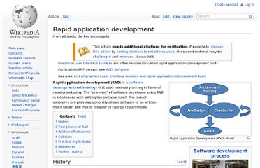 http://en.wikipedia.org/wiki/Rapid_application_development