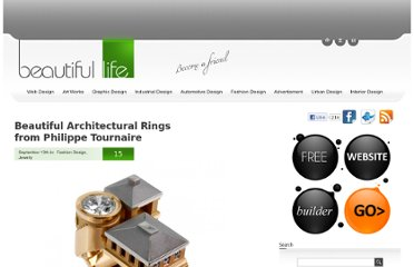 http://www.beautifullife.info/fashion-design/beautiful-architectural-rings-from-philippe-tournaire/