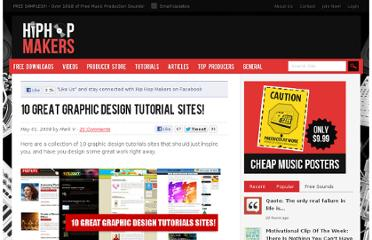 http://hiphopmakers.com/10-great-graphic-design-tutorials-sites