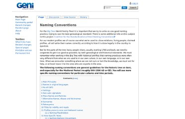 http://wiki.geni.com/index.php/Naming_Conventions