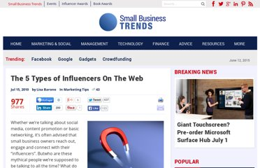 http://smallbiztrends.com/2010/07/the-5-types-of-influencers-on-the-web.html