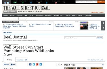 http://blogs.wsj.com/deals/2010/11/30/wall-street-can-stark-panicking-about-wikileaks-now/