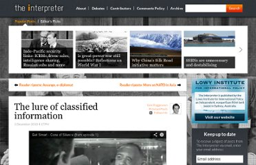 http://www.lowyinterpreter.org/post/2010/12/01/The-lure-of-classified-information.aspx