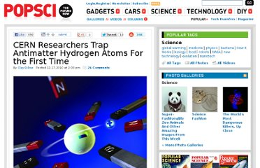 http://www.popsci.com/science/article/2010-11/cern-researchers-trap-antihydrogen-first-time