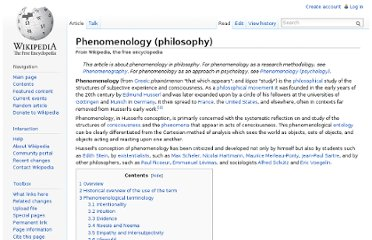http://en.wikipedia.org/wiki/Phenomenology_(philosophy)