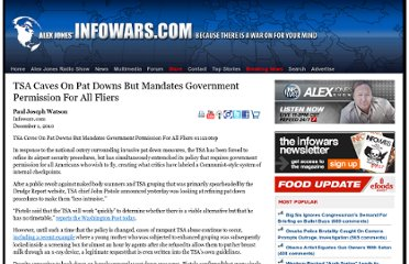 http://www.infowars.com/tsa-caves-on-pat-downs-but-mandates-government-permission-for-all-fliers/
