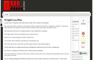 http://www.openfreak.com/weight-loss-plan/