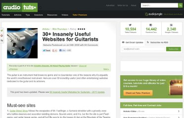 http://audio.tutsplus.com/articles/web-roundups/30-insanely-useful-websites-for-guitarists/