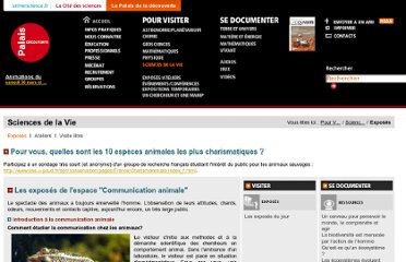 http://www.palais-decouverte.fr/index.php?id=sciences_de_la_vie