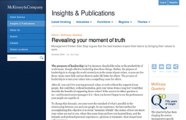 http://www.mckinseyquarterly.com/Organization/Talent/Revealing_your_moment_of_truth_2680