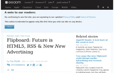 http://gigaom.com/2010/12/02/flipboard-html5-rss-advertising/