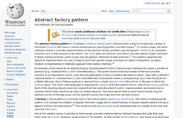 http://en.wikipedia.org/wiki/Abstract_factory_pattern