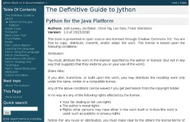 http://www.jython.org/jythonbook/en/1.0/index.html